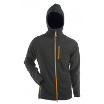 Gridarmor M's Fleece Afternoon Hoodie 1/1 Zipper Dark Shadow & Beeswax Zipper