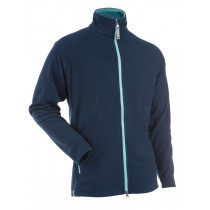 Gridarmor M's Fleece Daily 1/1 Zipper Dark Denim & Blue Topas Zipper