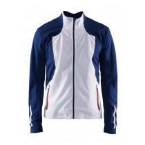 Craft Stratum Jacket Men's White/Thunder