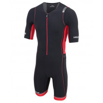 Huub Core Tri Suit Short Sleev Black/ Red - herre