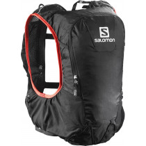 Salomon Skin Pro 10 Set Black/Bright Red NS