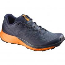 Salomon Shoes Sense Ride Navy Blazer/Bright Marigold/Ombre B