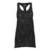 Mitchi Sportswear Cotton Tank Bo Black