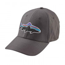 Patagonia Fitz Roy Trout Stretch Fit Hat Forge Grey