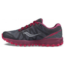 Saucony Peregrine 7 Women's Grey/Berry