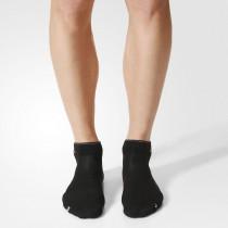 Adidas Running Light Ankle Socks Black/White/Reflective Silver