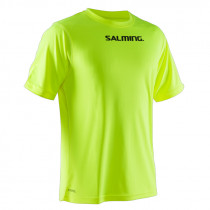 Salming Focus Tee Sr Safety Yellow