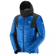 Salomon S-Lab X Alp Down Hoodie M Union Blue
