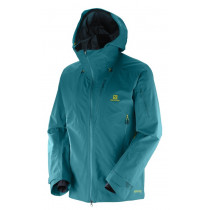 Salomon Qst Charge Gtx® 3l Jacket Man Blue Steel