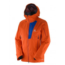 Salomon Qst Charge Gtx® 3l Jacket Man Orange
