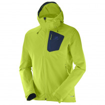 Salomon Ranger Softshell Jacket Men's Acid Lime