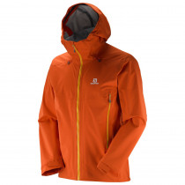 Salomon X Alp 3l Jkt M Vivid Orange