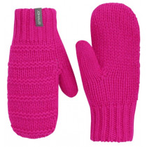 Johaug Now Winter Knitted Mitten Jr Pink