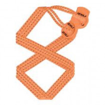 2XU Performance Locked Laces- U Fluoro Orange/Fluoro Orange