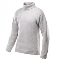 Devold Nansen Sweater High Neck Grey Melange