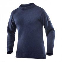 Devold Nansen Sweater Crew Neck Dark Blue Melange