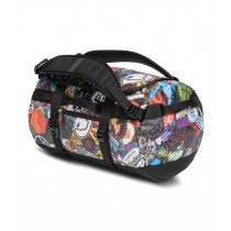 The North Face Base Camp Duffel XS Tnf Red Sticker Bomb Print/Tnf Black