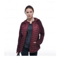 The North Face Women's Endeavor Thermoball Jacket Deep Garnet Red/Deep Garnet Red Dark Heather
