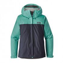 Patagonia Women's Torrentshell Jacket Navy Blue W/Strait Blue