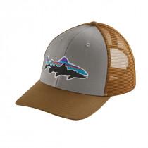 Patagonia Fitz Roy Trout Trucker Hat Drifter Grey W/Coriander