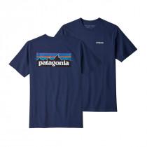 Patagonia M's P-6 Logo Responsibili-Tee Classic Navy