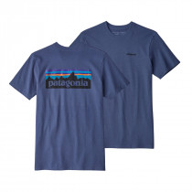 Patagonia M's P-6 Logo Responsibili-Tee Dolomite Blue