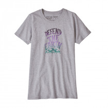 Patagonia Women's Defend The Earth Responsibili-Tee Drifter Grey