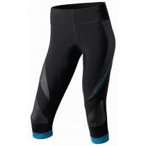 Dynafit Traverse w 3/4 tights black/fiji blue