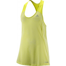 Salomon Elevate Tank:Tunic W Yuzu Yellow