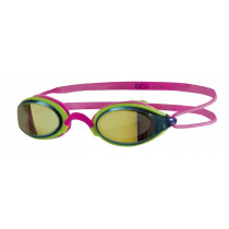 Zoggs Fusion Air Gold Mirror Rosa Og Lime