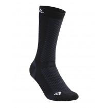 Craft Warm Mid 2-Pack Sock Black/White