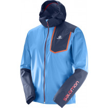 Salomon Bonatti Pro Wp Jkt M Hawaiian/Dress Blue