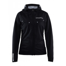 Craft Repel Jacket M Black/Silver Reflective