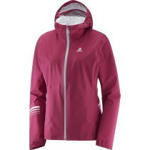 Salomon Lightning Wp Jkt W Beet Red