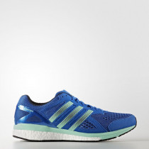 Adidas Adizero Tempo 8 Shoes Men's Blue/Night Navy/Easy Green