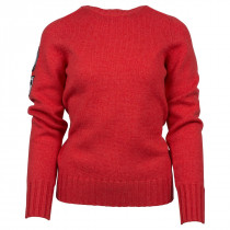 Amundsen Sports Peak Crew Neck W Weathered Red