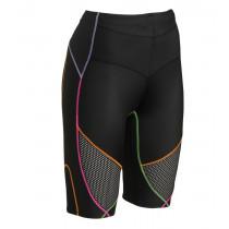 CW-X Stabilyx Ventilator Shorts Black/Rainbow Stitch