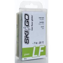 SkiGo LF Grønn FluorGlider -7/-20°C alle snøtyper 60g
