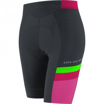 Gore Bike Wear® Power Lady Cool Tights Short+ Black/Raspberry Rose