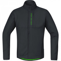 Gore Bike Wear Power Trail Windstopper Soft Shell Thermo Jacket Black