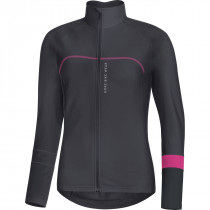 Gore Bike Wear Power Lady Thermo Jersey Raven Brown/Black