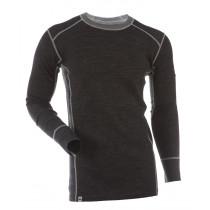 Gridarmor Men's Shirt LS BambWool Black Melange