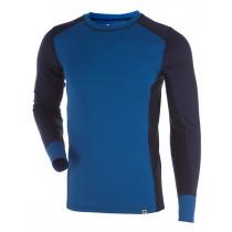 Gridarmor M's Shirt LS 100% Merino Skydiver/Twilight Blue/Eclipse