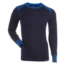 Gridarmor M's Shirt LS 100% Merino Twilight Blue/Skydiver/Eclipse