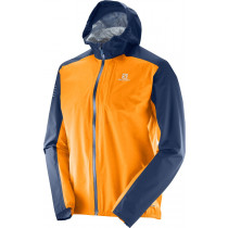 Salomon Bonatti Wp Jkt M Turmeric/Dress Blue
