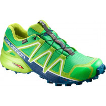 Salomon Speedcross 4 GTX Gr/Lime Green/Poseidon