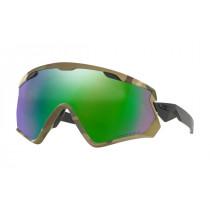 Oakley Wind Jacket 2.0 Army Camo Prizm Snow Jade Iridium