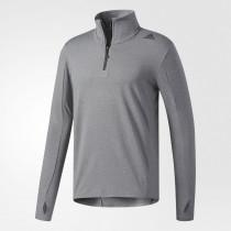 Adidas Men's Supernova Sweatshirt Black/Colored Heather