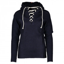 Amundsen Sports Boiled Hoodie Laced Women's Faded Navy