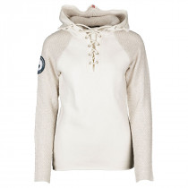 Amundsen Sports Boiled Hoodie Laced Women's Oatmeal